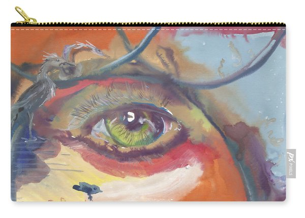 Eye See A Bird Carry-all Pouch
