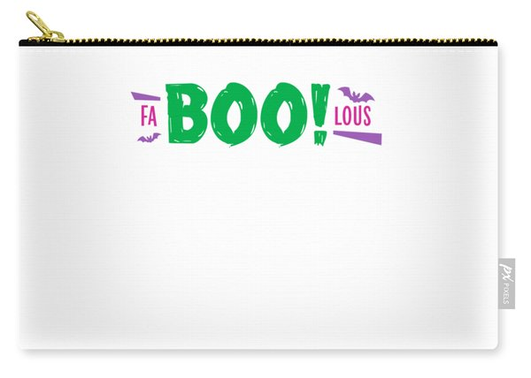 Fa Boo Lous Pun On Halloween Scary But Easy Costume Love Halloween Office Parties Gift Or Present Carry-all Pouch