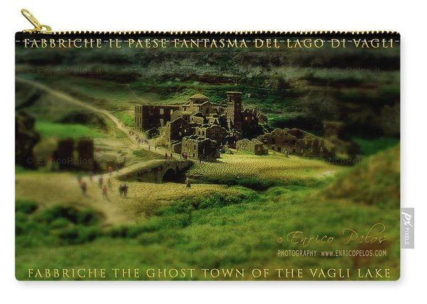 Fabbriche Di Vagli Paese Fantasma Ghost Town 1 Carry-all Pouch