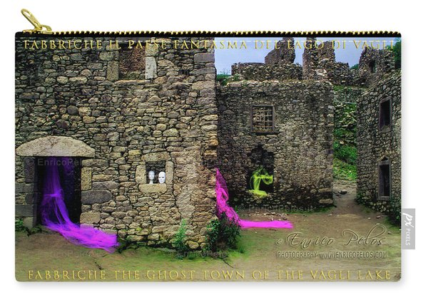 Fabbriche Di Vagli Paese Fantasma Ghost Town 2 Carry-all Pouch