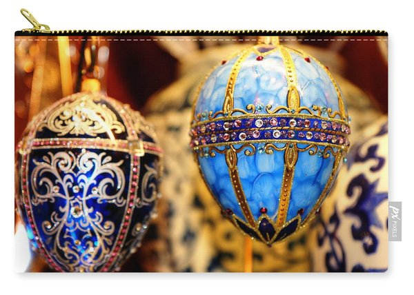 Faberge Holiday Eggs Carry-all Pouch