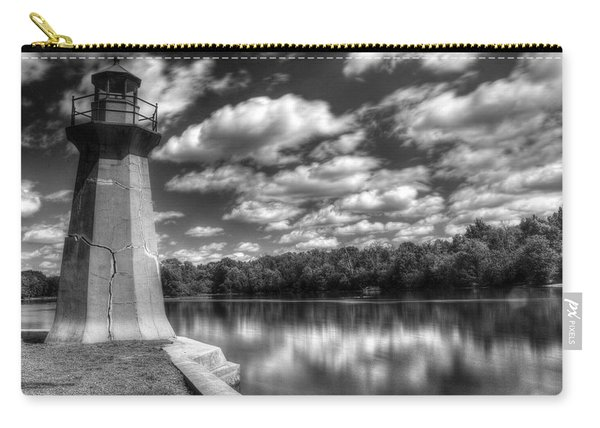 Fabyan Lighthouse On The Fox River Carry-all Pouch