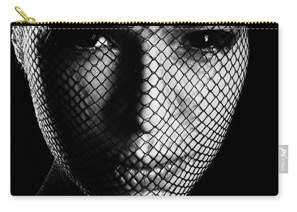 Face Lacemasked #4719 Carry-all Pouch