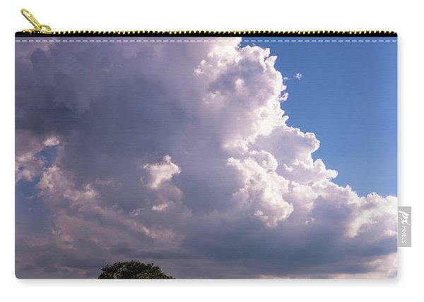 Facing The Storm Carry-all Pouch