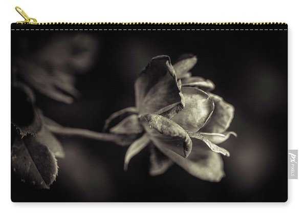 Carry-all Pouch featuring the photograph Faded Beauty by Allin Sorenson