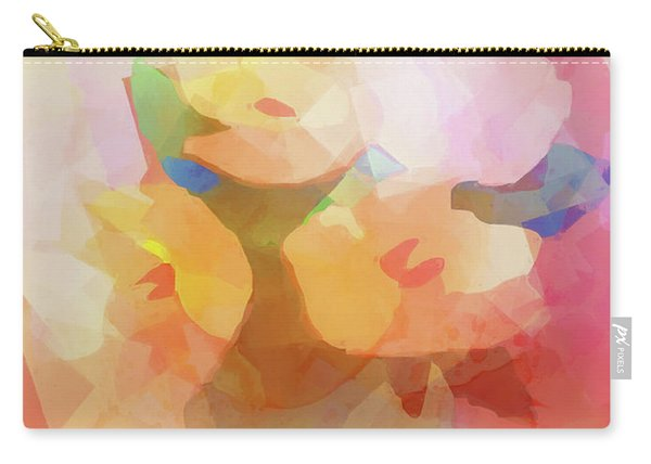 Faded Flowers Carry-all Pouch