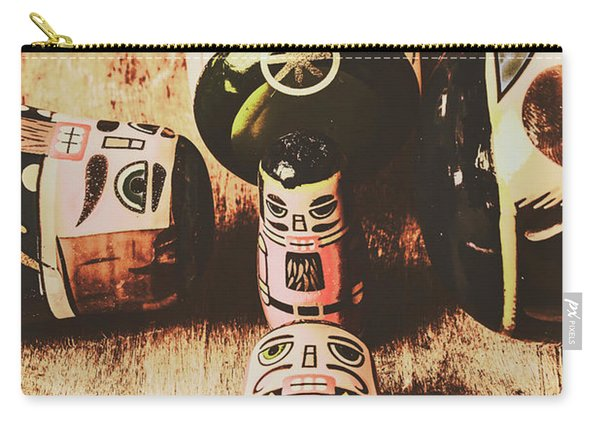 Faded Old Toys From A Vintage Past Carry-all Pouch