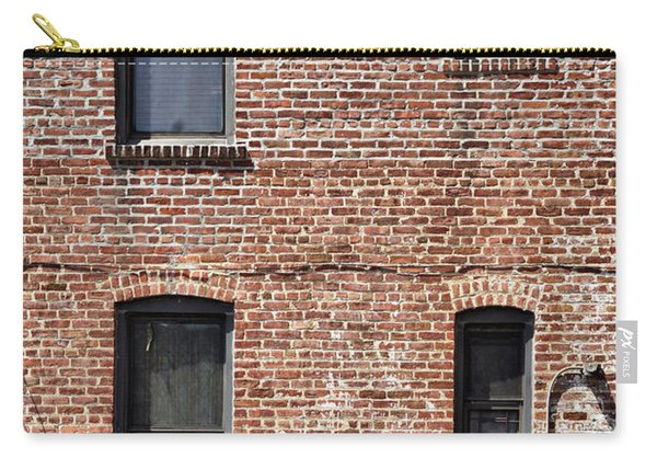 Fading Brick Facade Carry-all Pouch