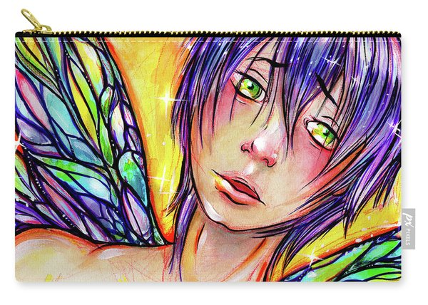 Faery Boy Carry-all Pouch