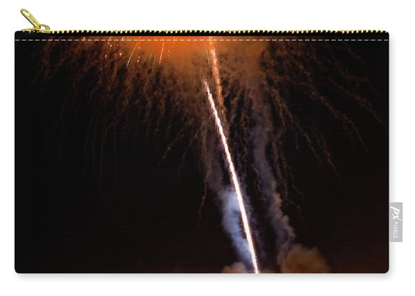 Fireworks As Seen From The Ventura California Pier Carry-all Pouch