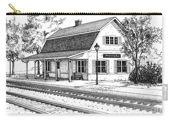 Fairview Ave Train Station Carry-all Pouch