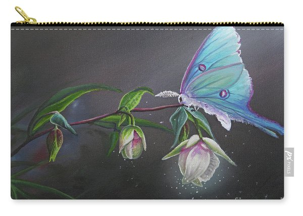 Fairy Lantern's Glow Carry-all Pouch