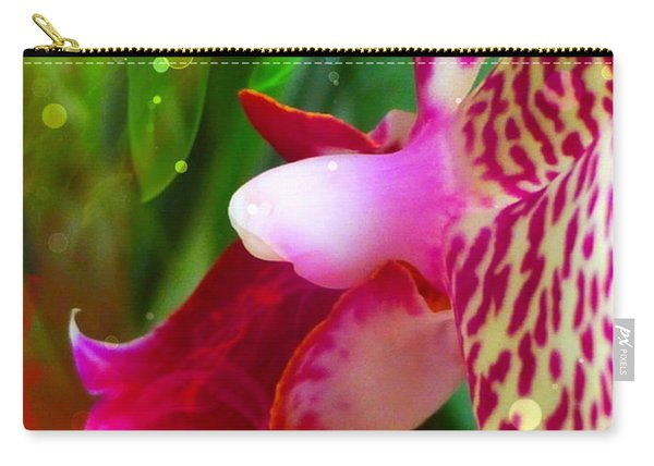 Fairy Orchid Carry-all Pouch