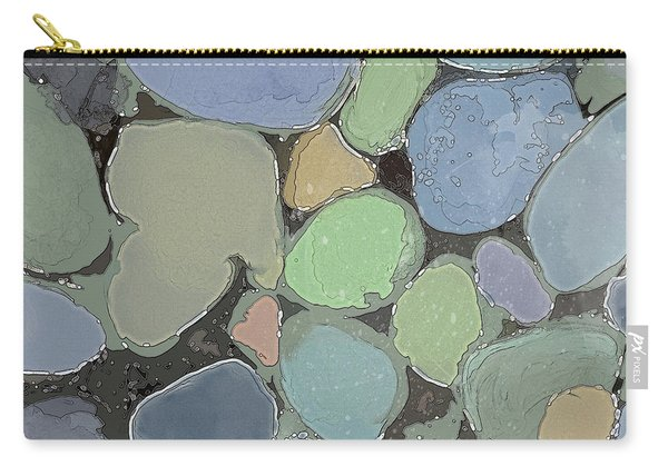 Carry-all Pouch featuring the digital art Fairy Pool by Gina Harrison