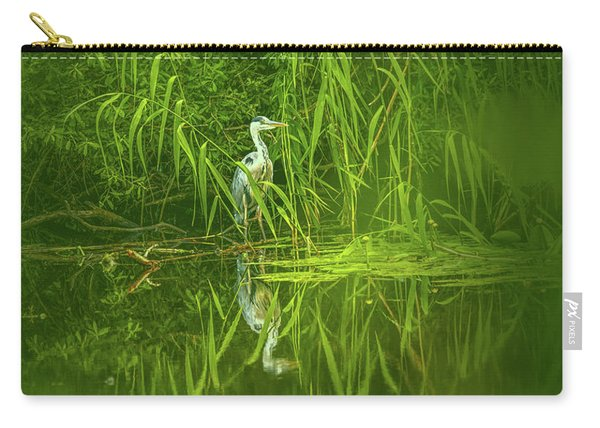 Fairy Tale Heron #g5 Carry-all Pouch