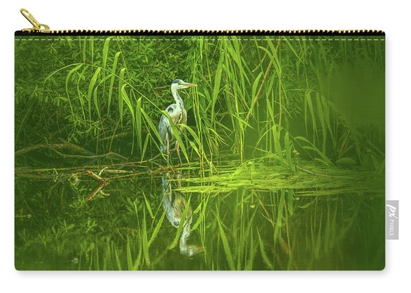 Fairy Tale Heron #g5 Carry-all Pouch