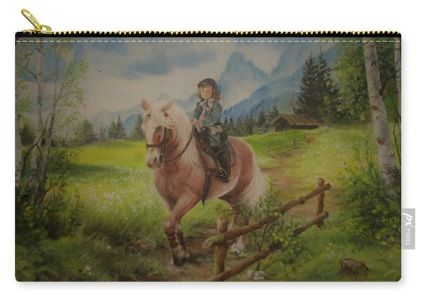 Fairy Tale In The Alps Carry-all Pouch