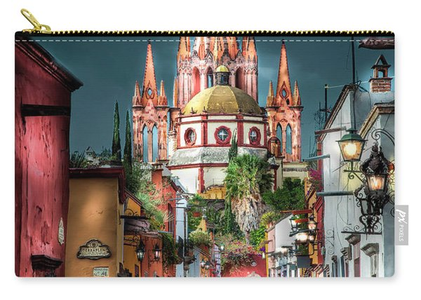 Fairy Tale Street Carry-all Pouch