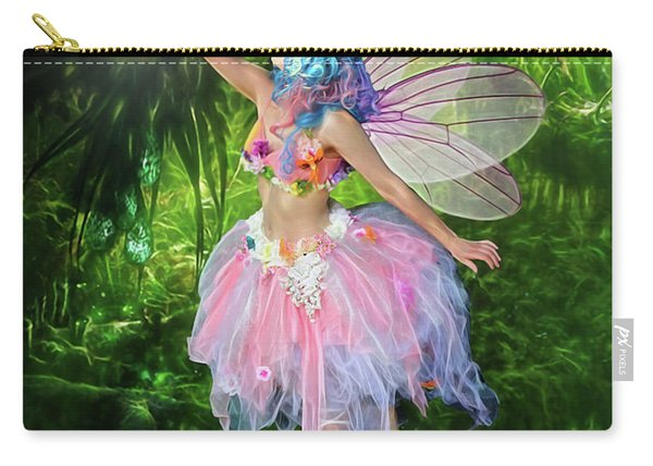 Fairy With Light Carry-all Pouch