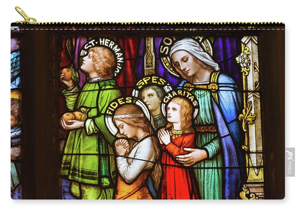 Faith, Hope, And Charity Carry-all Pouch