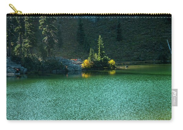 Fall Afternoon On Sheep Lake Carry-all Pouch