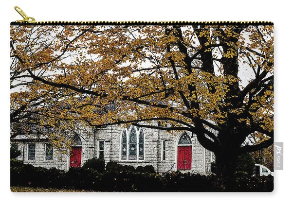 Fall At Church Carry-all Pouch