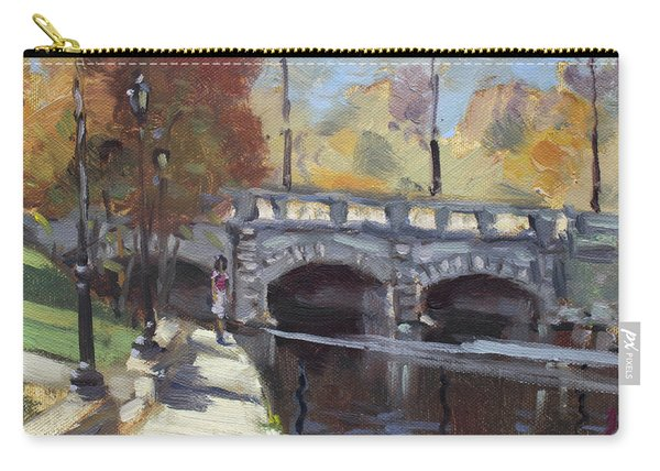 Fall At Delaware Park Buffalo Carry-all Pouch
