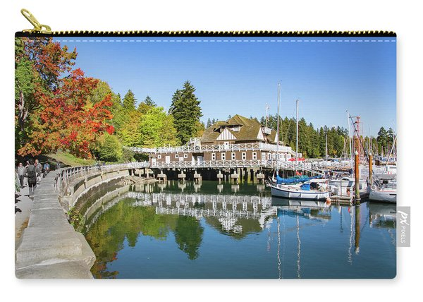 Fall At The Rowing Club In Vancouver Carry-all Pouch
