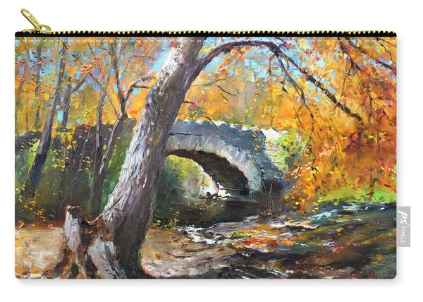 Fall At Three Sisters Islands Carry-all Pouch
