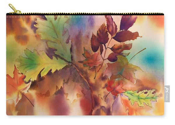 Fall Bouquet Carry-all Pouch