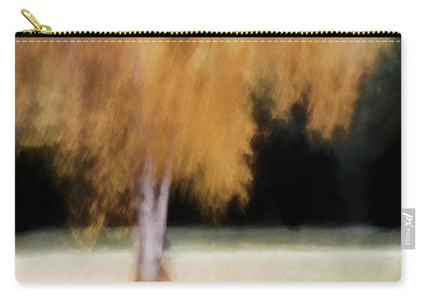 Fall Color With Painterly Effect Carry-all Pouch