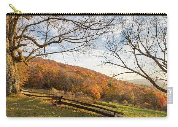 Fall Colors At The Moses Cone Estate Carry-all Pouch
