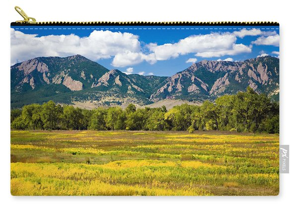Fall Colors Of Boulder Colorado Carry-all Pouch