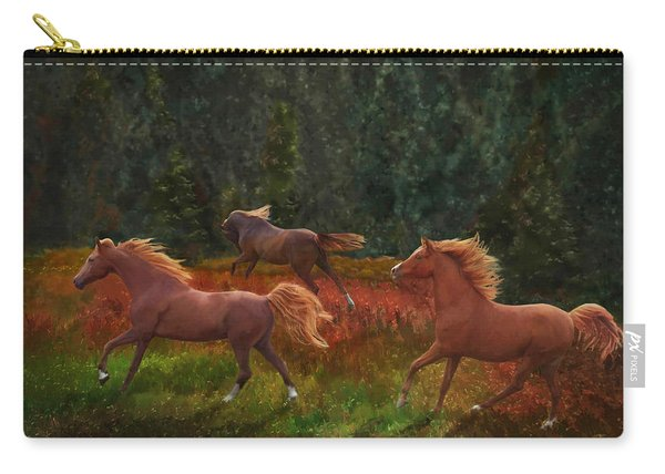 Fall Dancers Carry-all Pouch