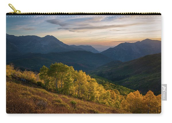 Fall Evening In American Fork Canyon Carry-all Pouch