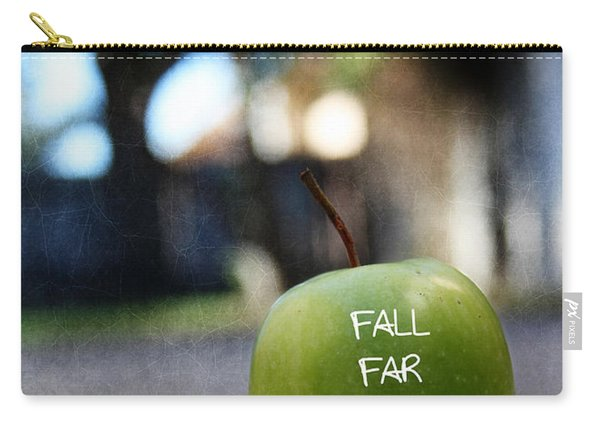 Fall Far From The Tree- Art By Linda Woods Carry-all Pouch