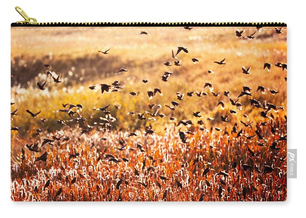 Fall Flock Carry-all Pouch