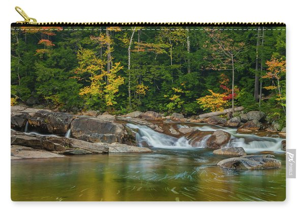 Fall Foliage In Autumn Along Swift River In New Hampshire Carry-all Pouch