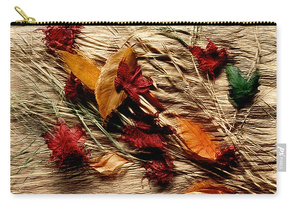 Fall Foliage Still Life Carry-all Pouch