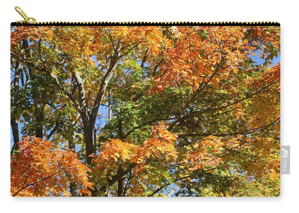 Carry-all Pouch featuring the photograph Fall Gradient by William Selander