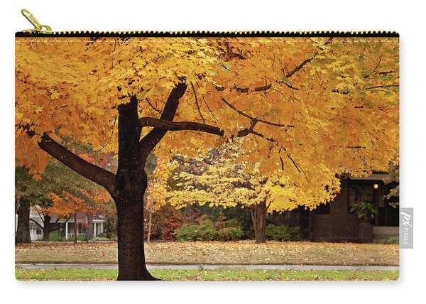 Fall In Downtown Conway Carry-all Pouch