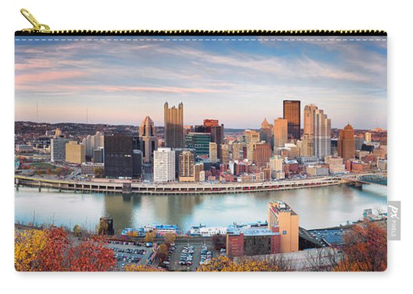 Fall In Pittsburgh  Carry-all Pouch