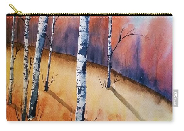 Fall In The Birches Carry-all Pouch