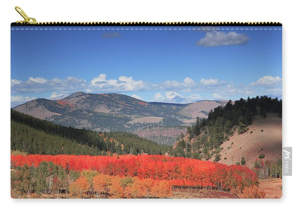 Fall In  Ute Trail  Carry-all Pouch