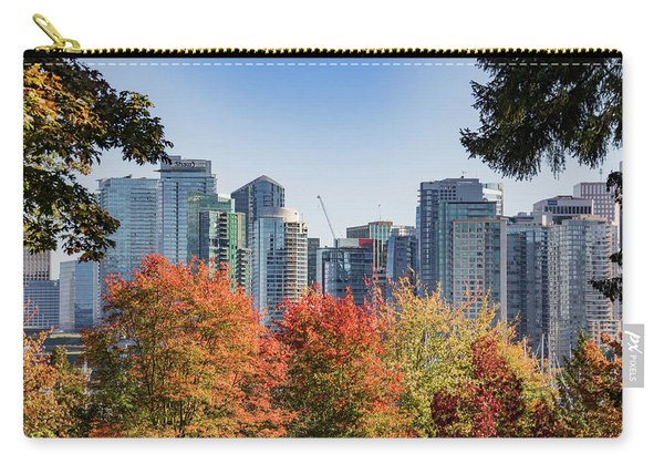 Fall In Vancouver Carry-all Pouch