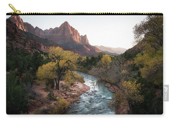 Fall In Zion National Park Carry-all Pouch