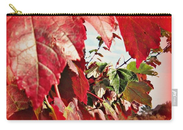 Fall Leaves #10 Carry-all Pouch