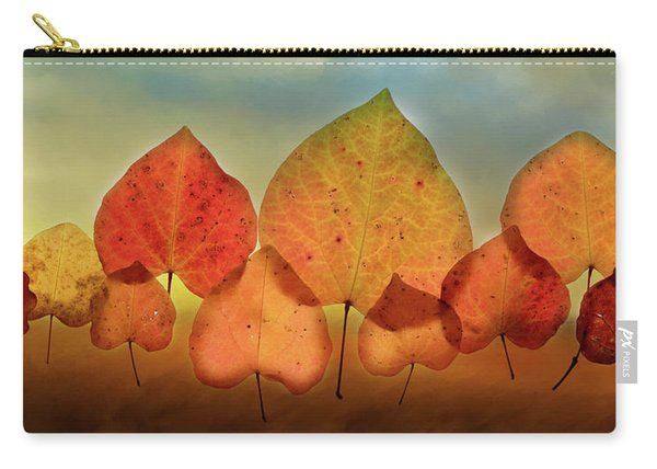 Fall Leaves #3 Carry-all Pouch