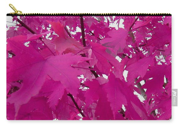 Fall Leaves #5 Carry-all Pouch