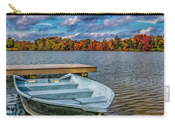Fall On Alloway Lake Carry-all Pouch